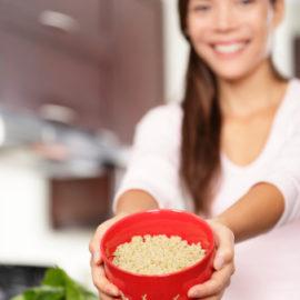 Quinoa Upma, a savory quinoa casserole