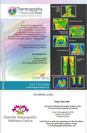 ONWC's Next Thermography Day! Friday May 26, 2017